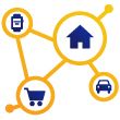 Visa Ready internet of things icon